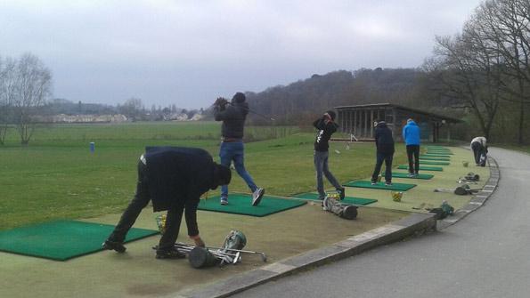golf éducatif au golf de Marivaux