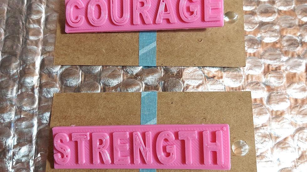 Cancer awareness pins