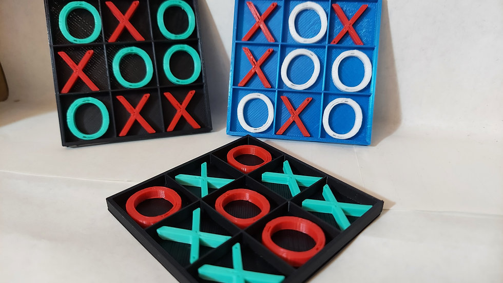 mini tic tac toe board game