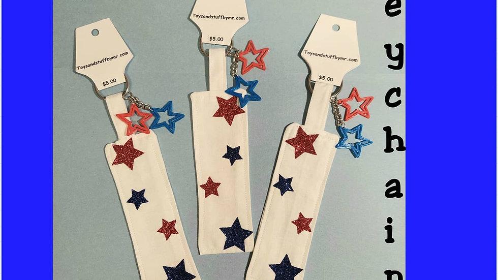 Stars key chain