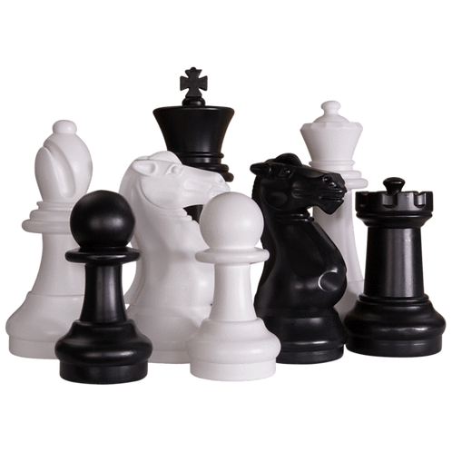 Outdoor Chess Pieces