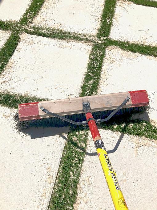 PaverTURF sand infill