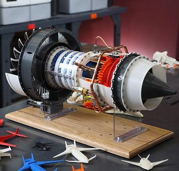 Макет двигателя