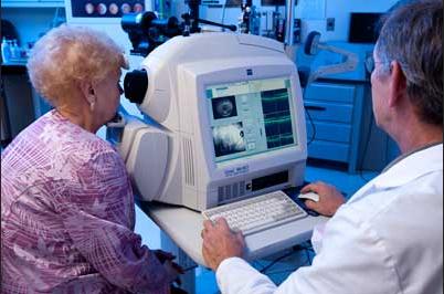 אבחון גלאוקומה
