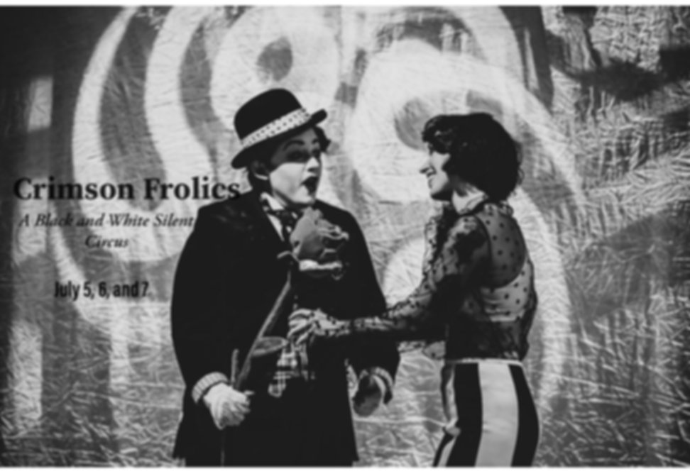 Crimson Frolics: A Black and White Silent Circus