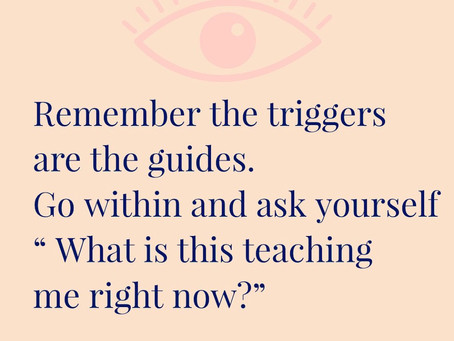Remember the triggers are the guides.