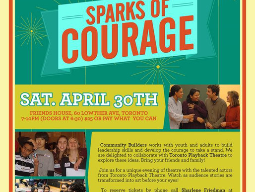Come Join Us on April 30th for a Night of Courage!
