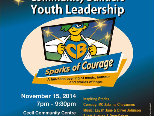 Sparks of Courage Ignite as Community Builders Turns 20!