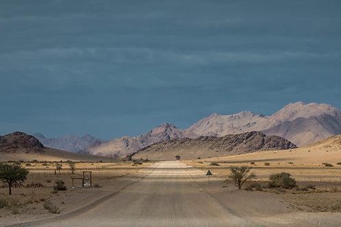 La piste Solitaire road