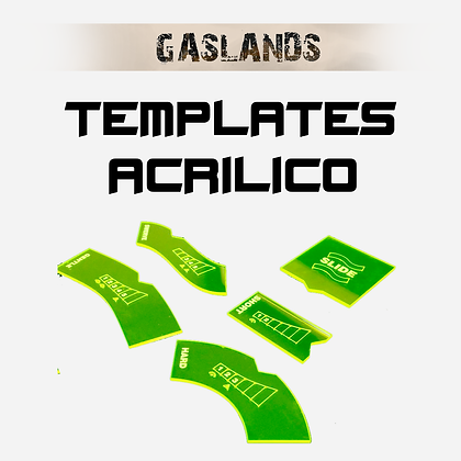 Gaslands - Templates