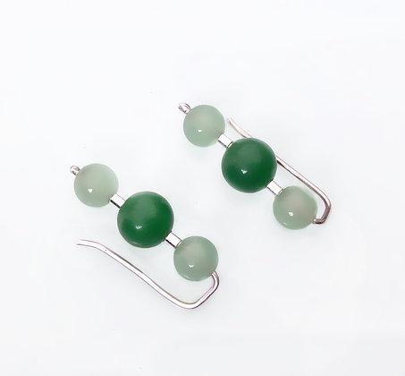 Trepadores de Jade verde claro y oscuro
