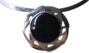 Obsidiana plateada
