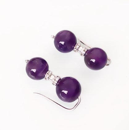 Trepadores de perlas de Amatista