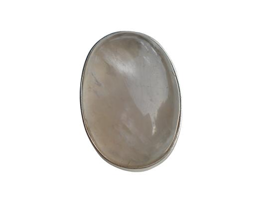 Cuarzo blanco oval gigante