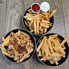 Fries, fries, fries