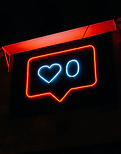 heart-and-zero-neon-light-signage-269443