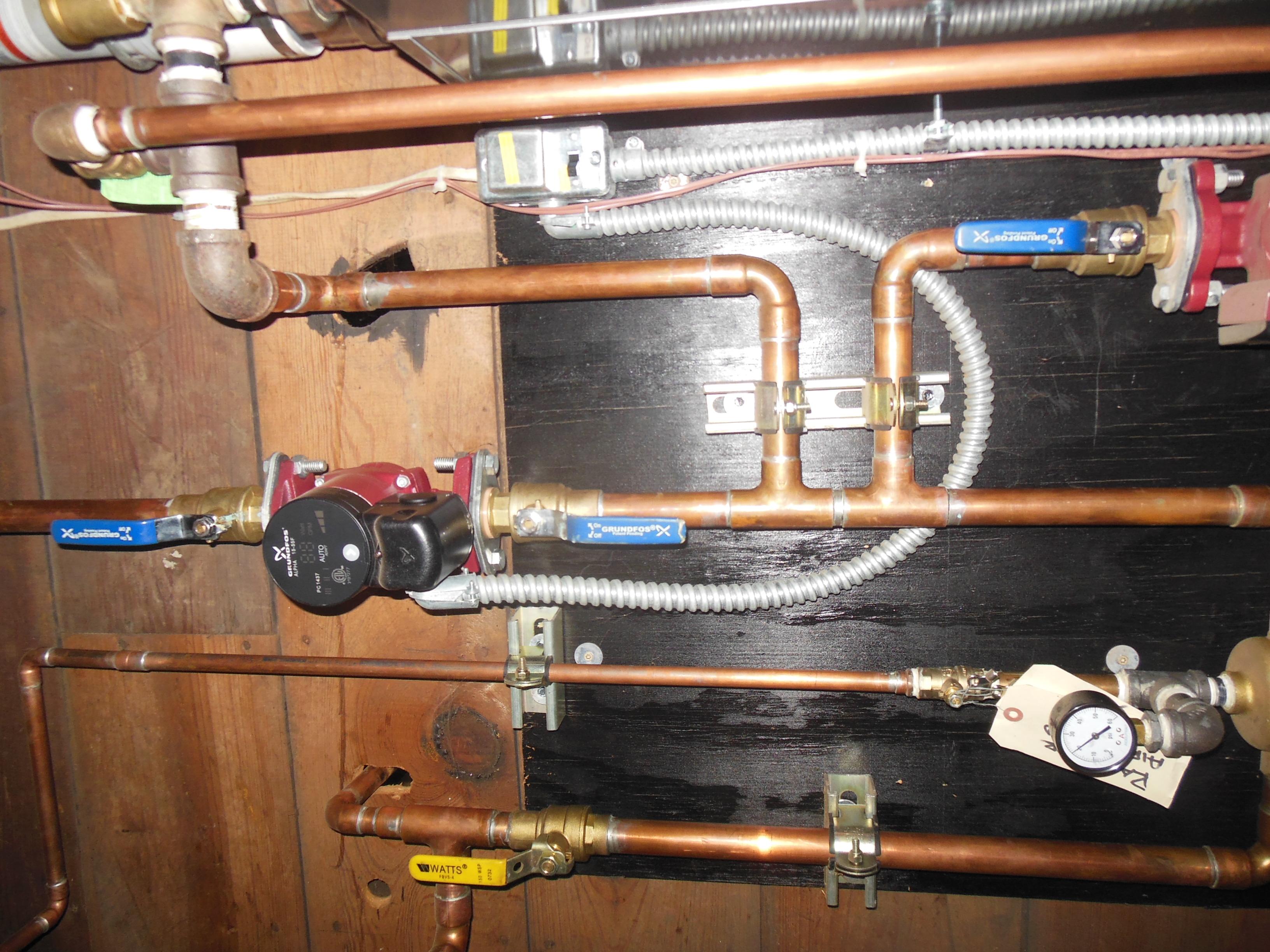 509 Normal boiler system