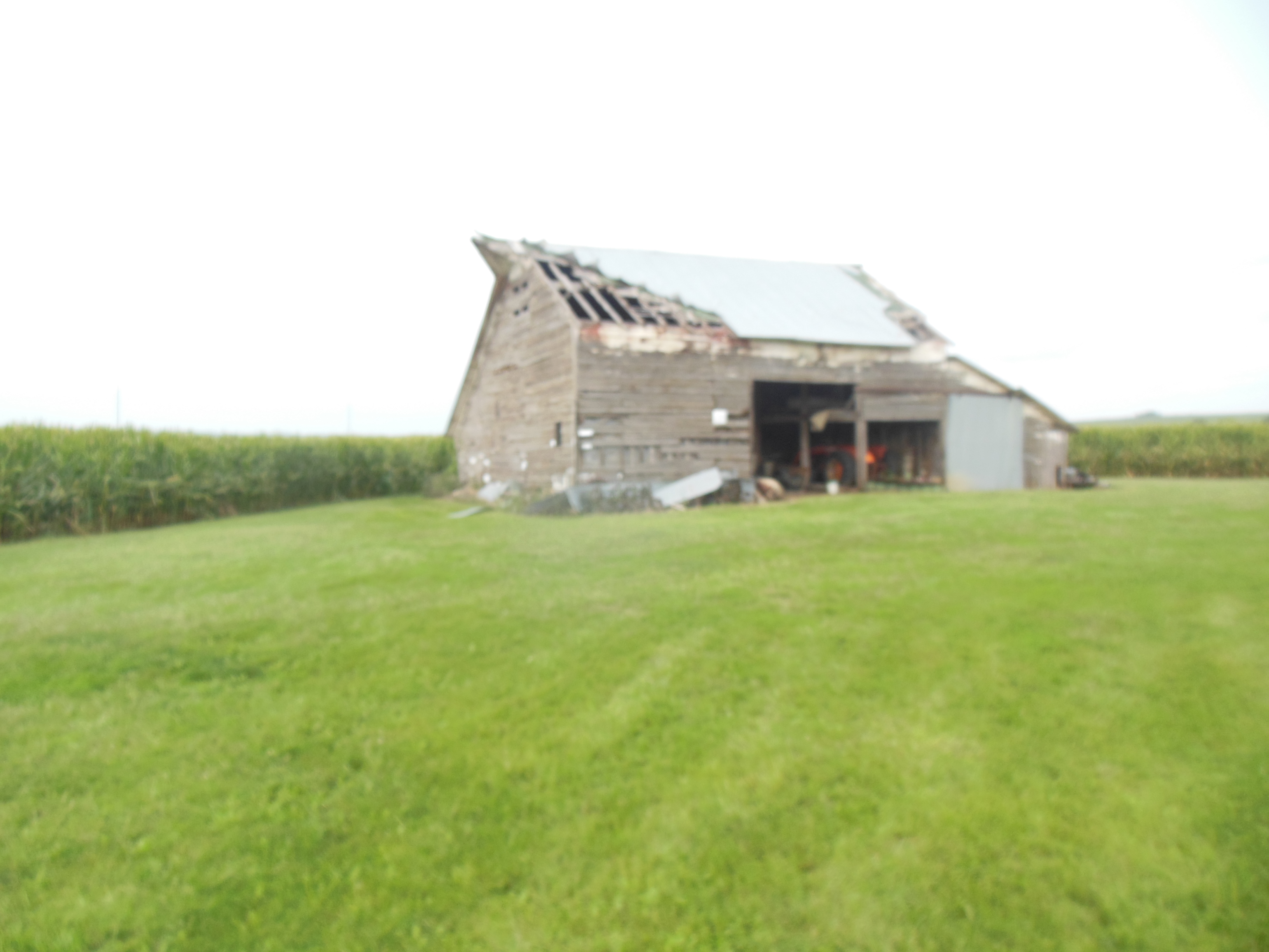 Barn to be torn down