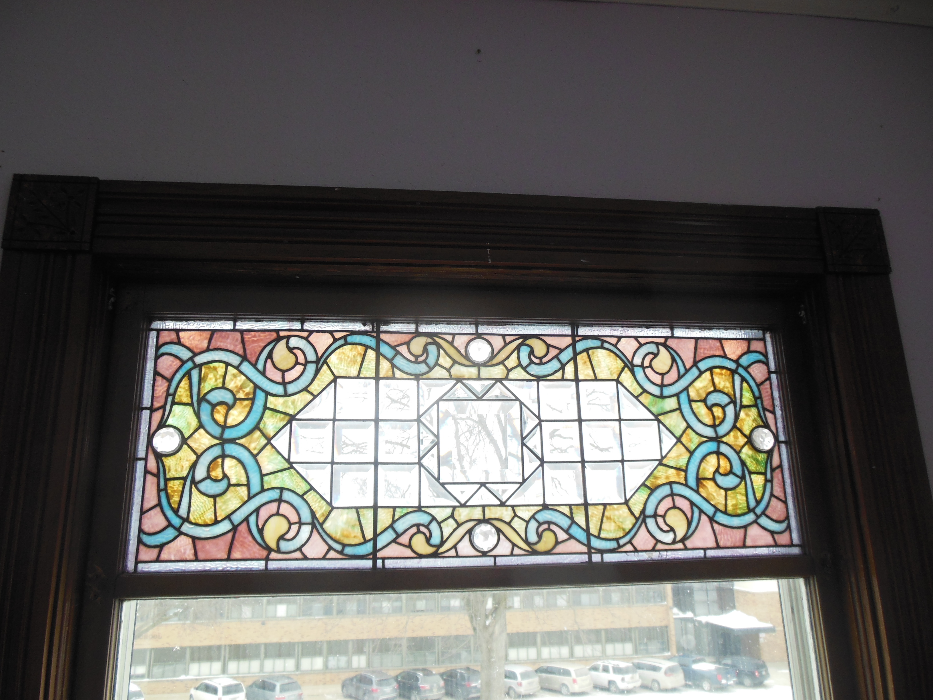 509 Normal, stained glass