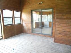 Enclosed Deck
