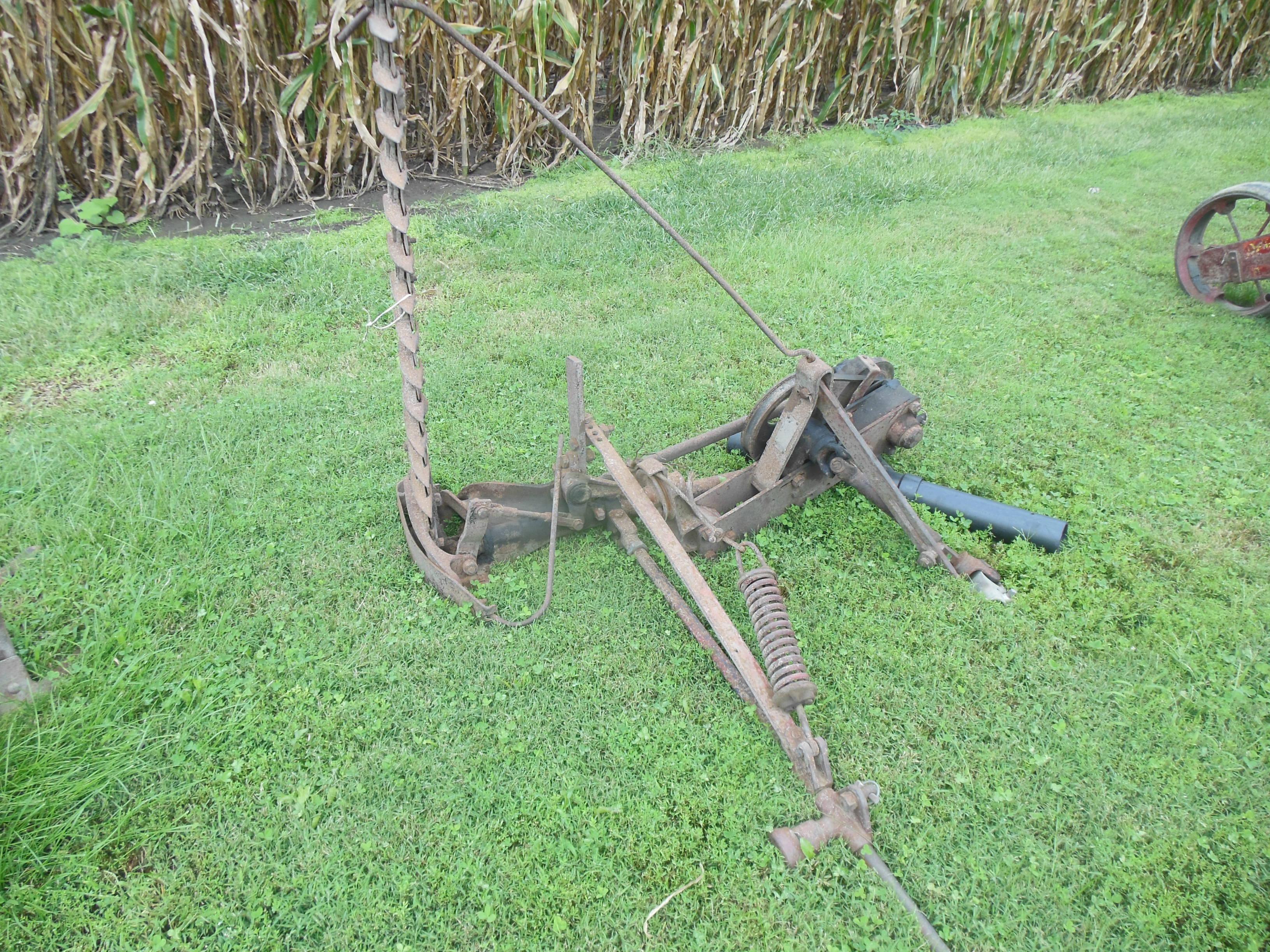 Clark antique mower