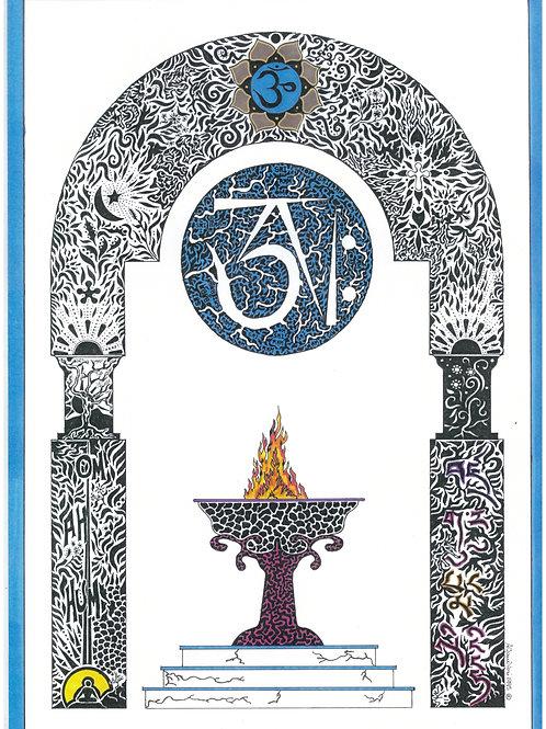 Eternal Flame Print