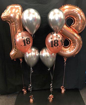 Age Balloon Arrangement