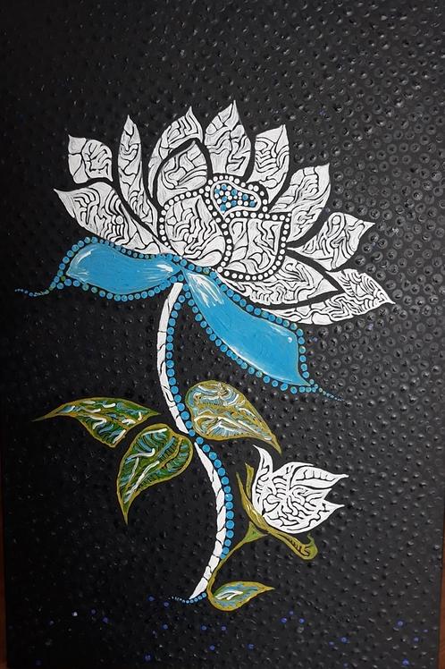 Standing Lotus