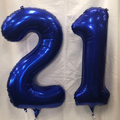 21st Foil Numbers