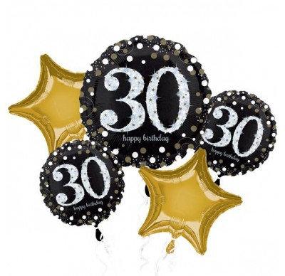 30th Balloon Bouquet