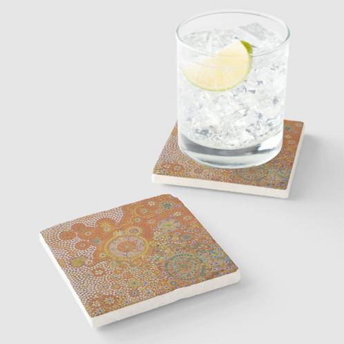 Forgotten Spirit Sandstone Coaster set