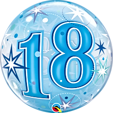 18th Bubble Balloon