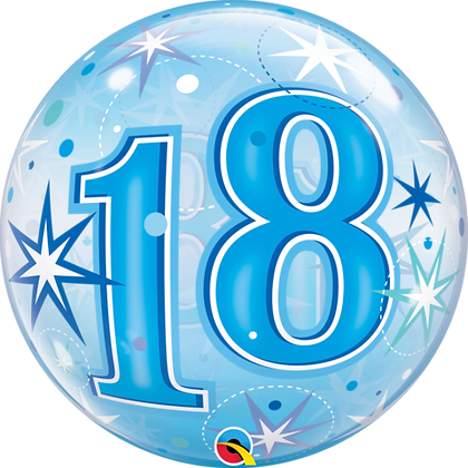 18th Birthday Bubble Balloon