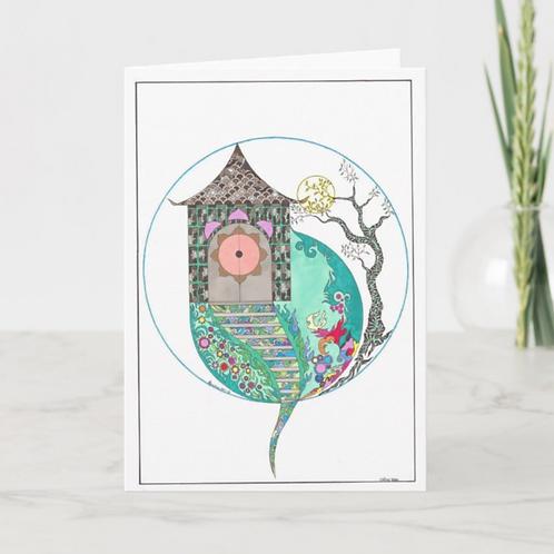 Heaven's Gate Greeting Card