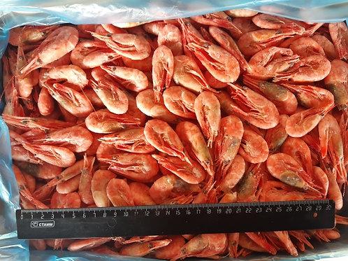 Креветки варёно-мороженые, судовой заморозки, размер: 150/180. Упаковка: 5 кг.