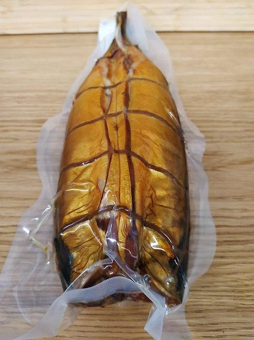 Скумбрия горячего копчения в/у вес, вес упаковки ~600 гр.