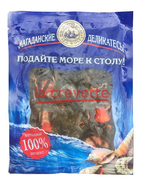 Салат из морской капусты с мясом краба в маринаде 150гр. в вакуумной упаковке