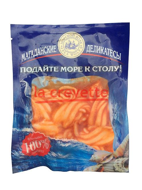 Щупальца кальмара в томатно-масляной заливке 150 гр. в вакуумной упаковке
