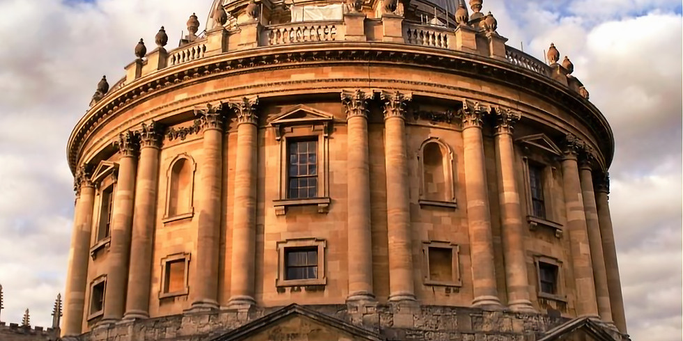 Oxford Undergraduate Study Information Session