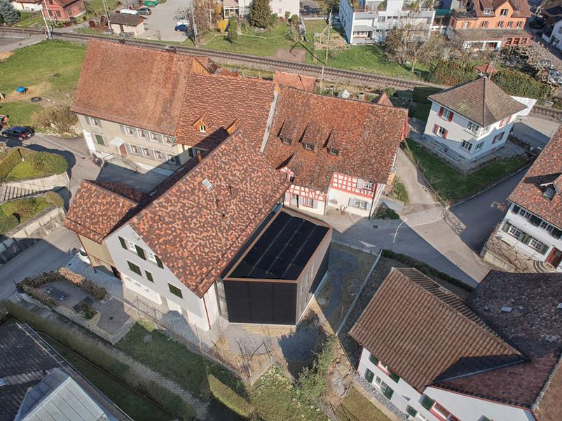 Luftaufnahme Mesmerhaus