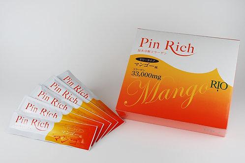 PinRich コラーゲンマンゴー 30包
