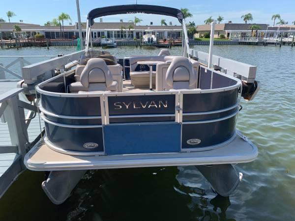 2014 Sylvan Mirage Pontoon 4