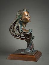 Wood Nymph Bronze Sculpture Zienna Eve