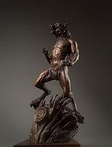 Werewolf Bronze Sculpture Harbinger Monster Hunter International