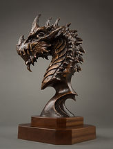 Dragon Bronze Sculpture
