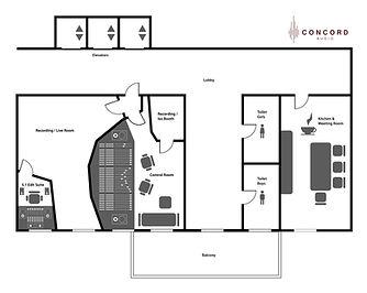 180 square meter studio space + meeting room