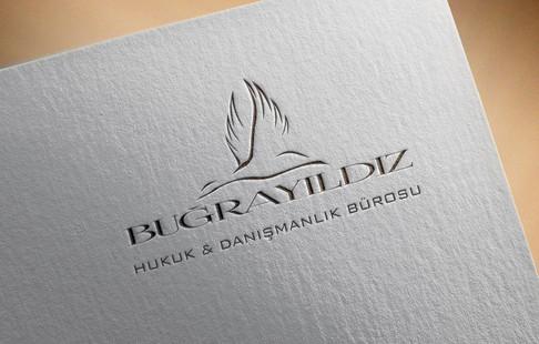 Avukat Buğra Yıldız Logo Tasarımı
