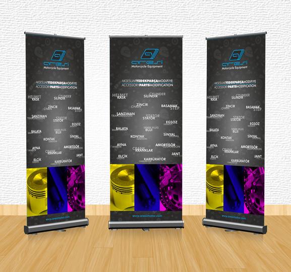 Roll Up Banner Tasarımı