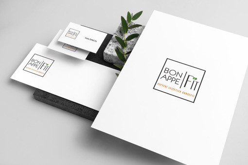 Bon Appe Fit Logo Tasarımı