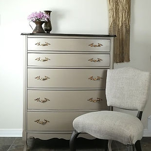 This beautiful FP tallboy was painted wi